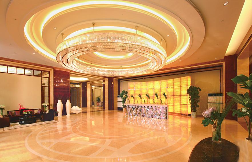 酒店大堂圆形吸顶灯