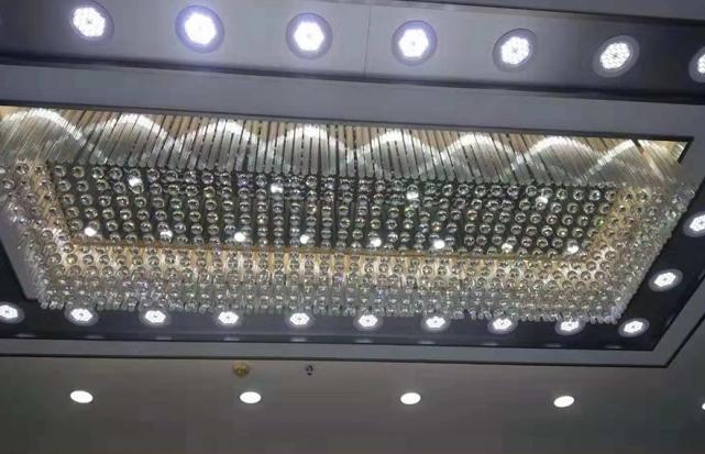珠宝店梅花管吸顶灯