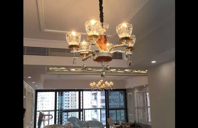 别墅欧式水晶吊灯