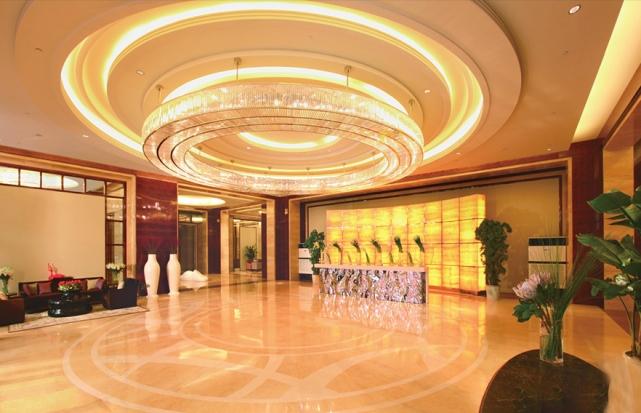 上海酒店大堂圆形吸顶灯