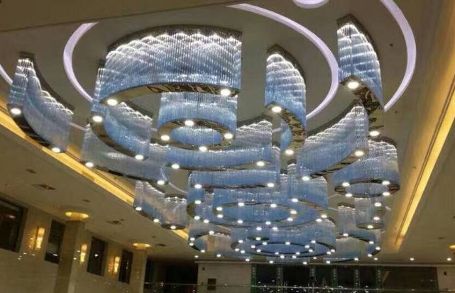 酒店大堂工程吸顶灯