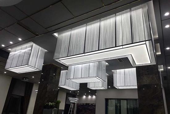 售楼部酒店异形灯具